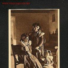 Postkarten - Postal del VALLE DE ANSO (Huesca): Ansotanas en traje de fiesta (Foto Camparie num.14) (animada) - 1371345