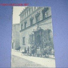 Postales: POSTAL DE JACA.- EL AYUNTAMIENTO. Lote 1989219