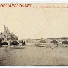 Postkarten - ZARAGOZA. RIO EBRO Y PUENTE DE PIEDRA - 2121789