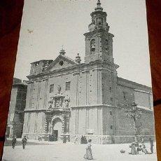 Postales: ANTIGUA POSTAL ZARAGOZA - IGLESIA DE SAN FELIPE Y SANTIAGO - NO CIRCULADA - ED. THOMAS.. Lote 2543518