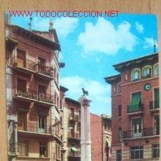 Postales - TERUEL. PLAZA DE CARLOS CASTEL (TORICO) - 16478201