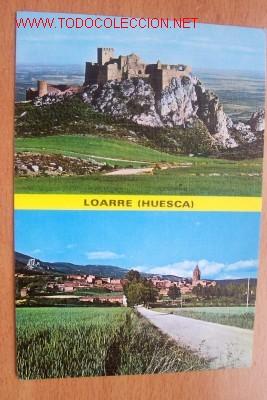 LOARRE (HUESCA)- I CASTILLO DE LOARRE, II VISTA GENERAL (Postales - España - Aragón Moderna (desde 1.940))