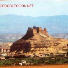 Postales: MONZON (HUESCA)- CASTILLO DE MONZÓN. Lote 16478165