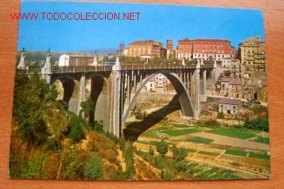 TERUEL- VIADUCTO Y VISTA PARCIAL (Postales - España - Aragón Moderna (desde 1.940))