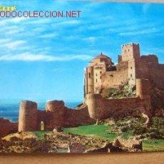 Postales: HUESCA- AYERBE, CASTILLO ROMÁNICO DE LOARRE. SIGLO XI. Lote 16844169