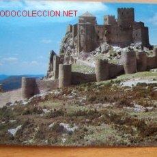 Postales: ALTO ARAGON (HUESCA) LOARRE- CASTILLO ROMÁNICO SIGLO XI. Lote 16618529