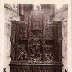 Postales: HUESCA - ALTAR MAYOR, CATEDRAL. Lote 9719428