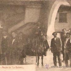 Postales: CALATAYUD.MESON DE LA DOLORES. Lote 21463245