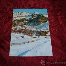 Postales: SALLENT DE GALLEGO ESTACION INVERNAL VISTA GENERAL,EDICIONES SICILIA . Lote 9899062