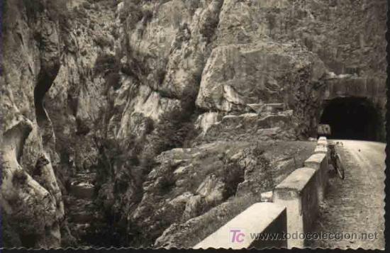 CASTEJON DE SOS - ENTRADA CONGOSTO SEIRA AL VALLE DE CASTEJON DE SOS. ED SICILIA (Postales - España - Aragón Antigua (hasta 1939))