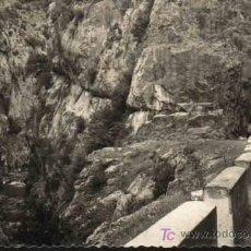 Postales: CASTEJON DE SOS - ENTRADA CONGOSTO SEIRA AL VALLE DE CASTEJON DE SOS. ED SICILIA. Lote 9911034