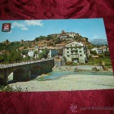 Postales: AINSA VISTA PARCIAL RIO ASA,EDICIONES FISA POSTALES ESCUDO DE ORO. Lote 9950848