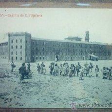 Postales: ZARAGOZA - CASTILLO DE C. ALJATERIA - CIRCULADA. Lote 18343882