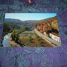 Postales: ALBARRACIN VISTA PANORAMICA Y RIO GUADALAVIAR,EDICIONES SICILIA-ZARAGOZA. Lote 10833284