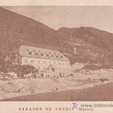 Postales: POSTAL ANTIGUA : PARADOR DE ARGUIS - HUESCA. Lote 10864839