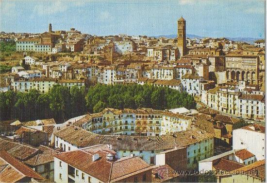 TARJETA POSTAL DE TARAZONA CIUDAD MUDEJAR PLAZA DE TOROS ZARAGOZA (Postales - España - Aragón Moderna (desde 1.940))