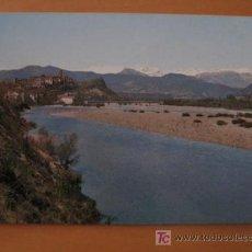 Postales: AINSA . PIRINEO ARAGONES. VISTA GENERAL Y RIO CINCA. Lote 11111479