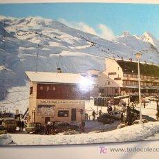 Postales: ALTO ARAGON , HUESCA, VISTA PARCIAL URBANIZACION,Y PISTAS DEL TOBAZO. Lote 11646727