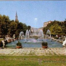 Postales: Nº 326 POSTAL ZARAGOZA SURTIDORES PASEO DE SAN SEBASTIAN. Lote 11745145