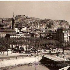 Postales: POSTAL CALATAYUD Nº 4 VISTA PARCIAL AL FONDO EL CASTILLO CIRCULADA EDICIONES SICILIA . Lote 11926516