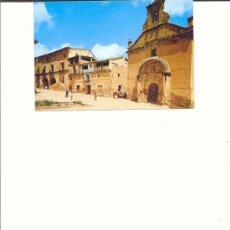 Postales: LA FRESNEDA IGLESIA Y CALLE DEL PILAR (TERUEL). Lote 11974463