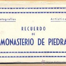 Postales: POST 384 - MONASTERIO DE PIEDRA - EDICIONES ARRIBAS - ZARAGOZA - 5 POSTALES UNIDAS - . Lote 23133861