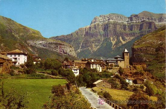 TORLA (HUESCA) - VISTA GENERAL - ED. SICILIA 1963 (Postales - España - Aragón Moderna (desde 1.940))