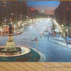 Postales: POSTAL DE ZARAGOZA.(PASEO DE LA INDEPENDENCIA). AÑOS 60. Lote 12380849