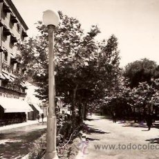 Postales: POSTAL CALATAYUD PASEO CALVO SOTELO. Lote 12512908