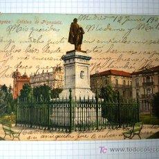 Postales: POSTAL ANTIGUA ZARAGOZA ARAGÓN. ESTATUA DE PIGNATELLI. PURGUER&CO. Nº 2315. . Lote 26117615