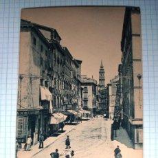 Postales: POSTAL ANTIGUA ZARAGOZA ARAGÓN. CALLE DE DON JAIME I. HAUSER&MENET. Nº 1204. . Lote 25671561