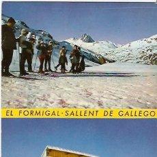 Postales: POSTAL FORMIGAL SALLENT DE GALLEGO PISTAS DE SKI. Lote 12706025