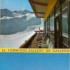 Postales: POSTAL FORMIGAL SALLENT DE GALLEGO PISTAS DE SKI. Lote 12706034
