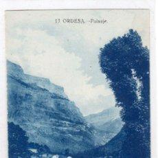 Postales: TARJETA POSTAL DE ORDESA, HUESCA. Nº 13. PAISAJE. EDITOR SILVERIO PASCUAL.CLICHES ARRIBAS. Lote 13072124
