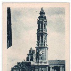 Postales - TARJETA POSTAL DE ZARAGOZA Nº 38. CATEDRAL DE LA SEO. - 13081673