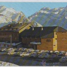 Postales: TARJETA POSTAL DE CANFRANC-CANDANCHU HOTEL TOBAZO AL FONDO CANAL DE IZAS HUESCA ESQUI. Lote 13109843