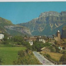 Postales: TARJETA POSTAL DE TORLA VISTA GENERAL Y MONDARRUEGO AL FONDO HUESCA. Lote 13121283