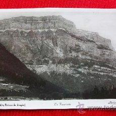 Cartoline: HUESCA - ORDESA - LA FRAUCATA. Lote 13136070