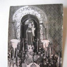 Postales: ALMUNIA DE SAN JUAN. HUESCA. NTRA. SRA. DE LA PIEDAD.. Lote 27614077