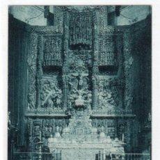 Postales: TARJETA POSTAL DE HUESCA. ALTAR MAYOR DE LA CATEDRAL. ED. ARRIBAS. Lote 13380706