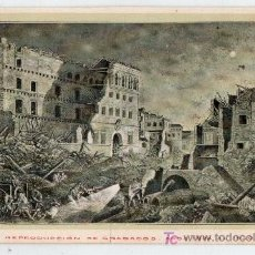 Postales: TARJETA POSTAL DE ZARAGOZA Nº 9. CENTENARIO DE LOS SITIOS EN 1908. LIT. E. PORTABELLA. Lote 13494205