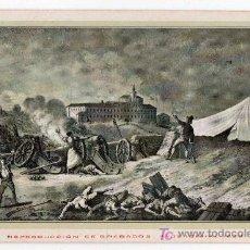 Postales: TARJETA POSTAL DE ZARAGOZA Nº 10. CENTENARIO DE LOS SITIOS EN 1908. LIT. E. PORTABELLA. Lote 13494237
