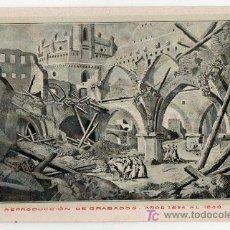 Postales: TARJETA POSTAL DE ZARAGOZA Nº 12. CENTENARIO DE LOS SITIOS EN 1908. LIT. E. PORTABELLA. Lote 13494297