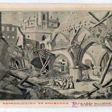 Postales: TARJETA POSTAL DE ZARAGOZA Nº 12. CENTENARIO DE LOS SITIOS EN 1908. LIT. E. PORTABELLA. Lote 13494307