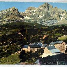 Postales: POSTAL TRAMACASTILLA VISTA PARCIAL Y PEÑA TELERA 1961. Lote 13700873
