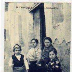Postales: ZARAGOZA Nº 58. UN GRUPO DE BATURRICOS. NO FIGUAR EDITOR.. Lote 13806380