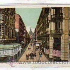 Postales: ZARAGOZA. Nº 15. CALLE DE DON ALFONSO I. REVERSO SIN DIVIDIR. SIN CIRCULAR.. Lote 13833376