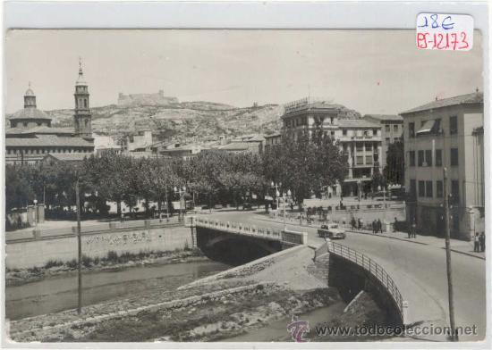 (PS-12173)POSTAL DE CALATAYUD(ZARAGOZA)-VISTA PARCIAL-ALFONDO EL CASTILLO (Postales - España - Aragón Moderna (desde 1.940))