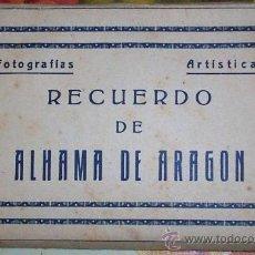 Postales: 10 POSTALES RECUERDO DE ALHAMA DE ARAGON ZARAGOZA, POSTAL. Lote 27548985