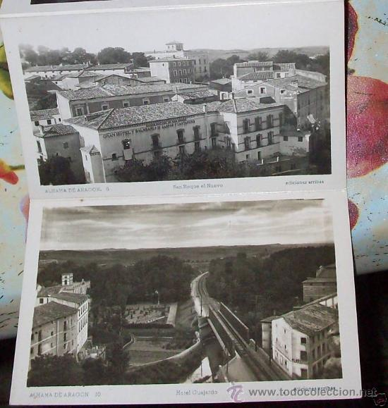 Postales: 10 POSTALES RECUERDO DE ALHAMA DE ARAGON ZARAGOZA, POSTAL - Foto 3 - 27548985
